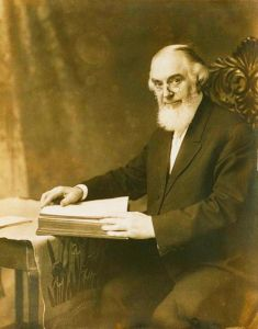 Charles Taze Russell founder of the Watchtower Society
