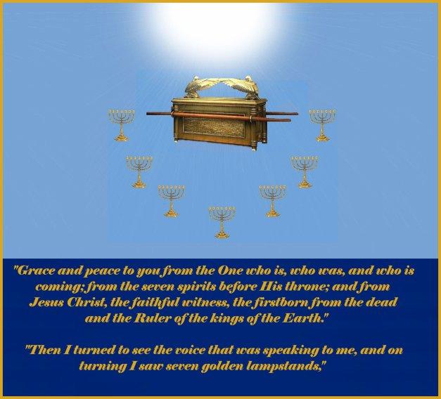 Revelation 1: 4,12