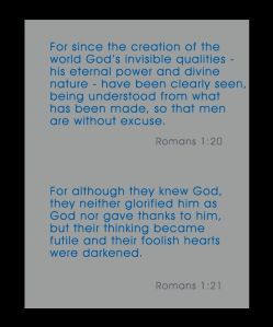 romans 1 vs 20 and 21 rev a
