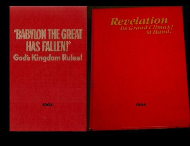 These two books are the Watchtower's most in depth considerations of its interpretation of the Book of Revelation.