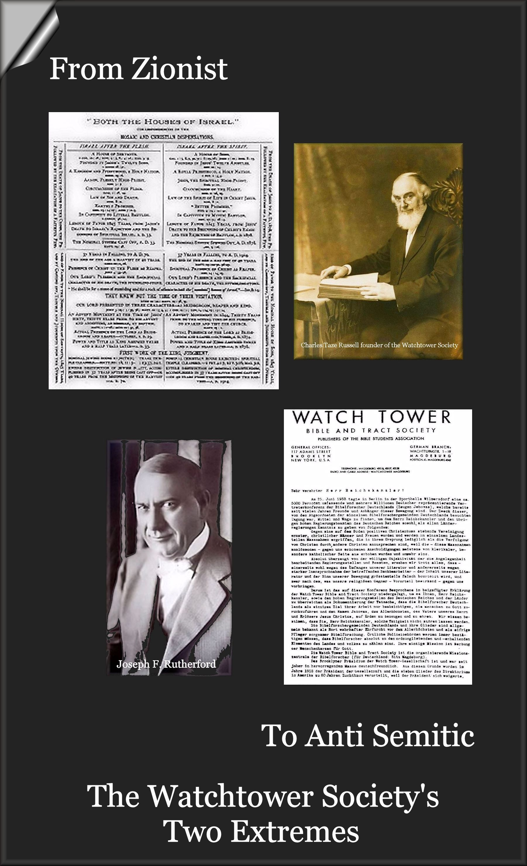 The Watchtower Society-The Two Extremes And The Schism That